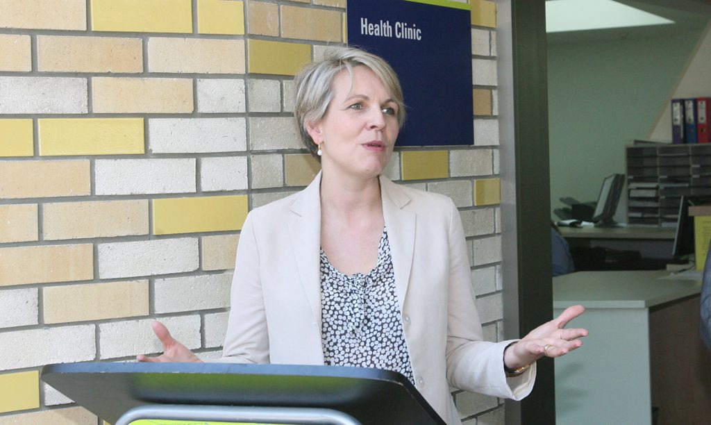 Minister for Health Tanya Plibersek.