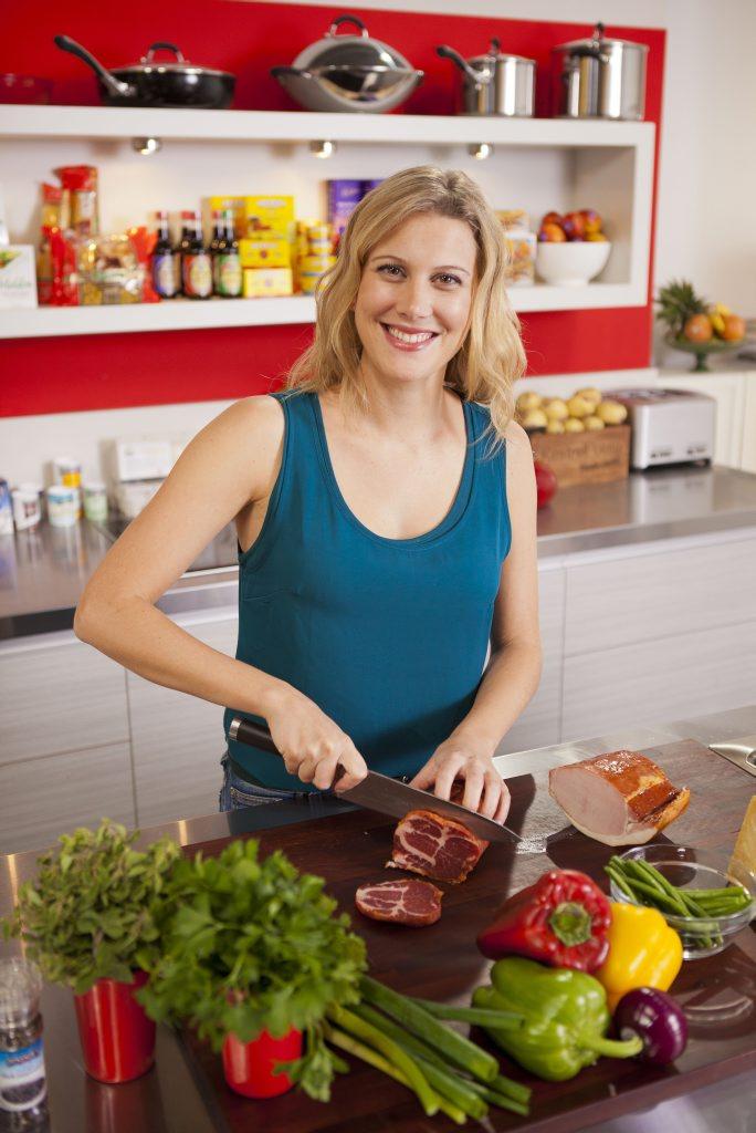 Everyday Gourmet star Justine Schofield.