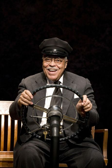 James Earl Jones stars in the play Driving Miss Daisy.
