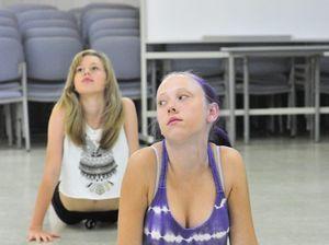 Danceography intermediate contemporary class