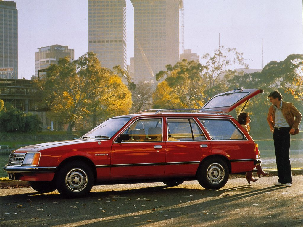 The VB Holden Commodore wagon.