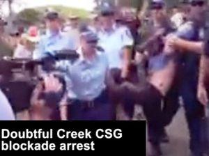 Doubtful Creek CSG blockade arrest
