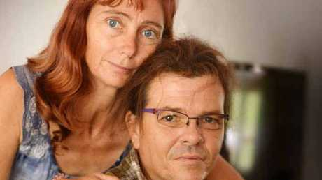 Andre Strooband and partner Sylvia Vandijk's pain has been increased since a cowardly attack left him with more injuries.