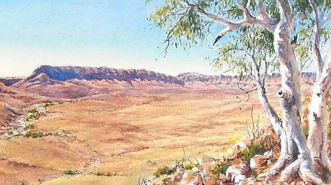 Panorama 4, Ormiston Pound by Margaret E Brown