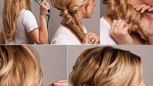 THE fishtail braid bun is a twist on the traditional fishtail braid, providing a softer and more elegant take on the hairstyle.