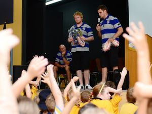 Bulldogs talk bullying in Rocky schools