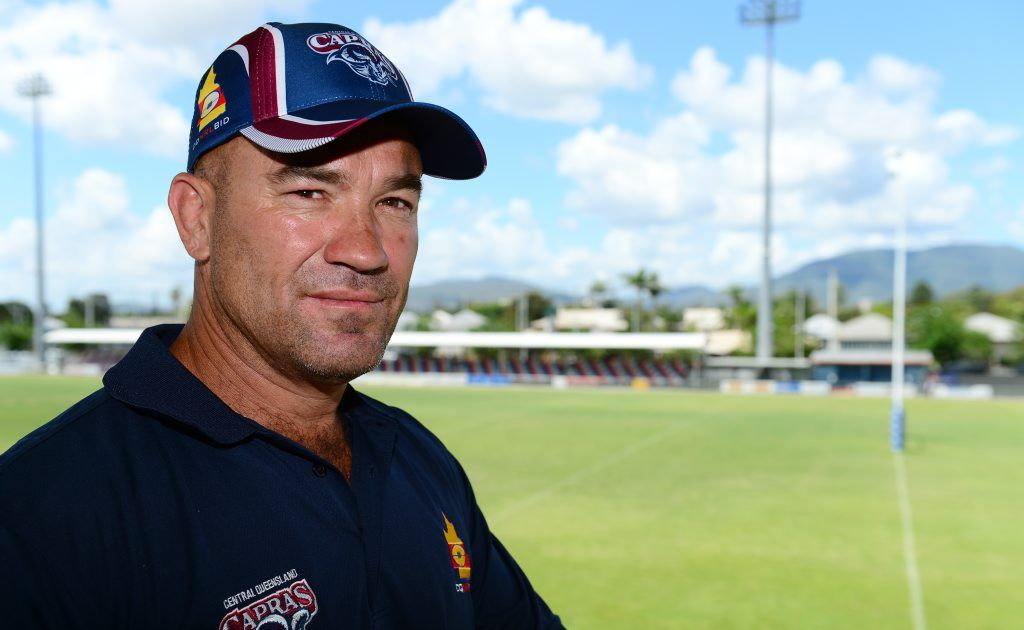 BIG PLANS: Rockhampton Leagues Club Capras coach Jason Hetherington has his sights set on success in the 2015 Intrust Super Cup. He believes new recruits, including Matt Minto, will play an important part in the team's resurgence.