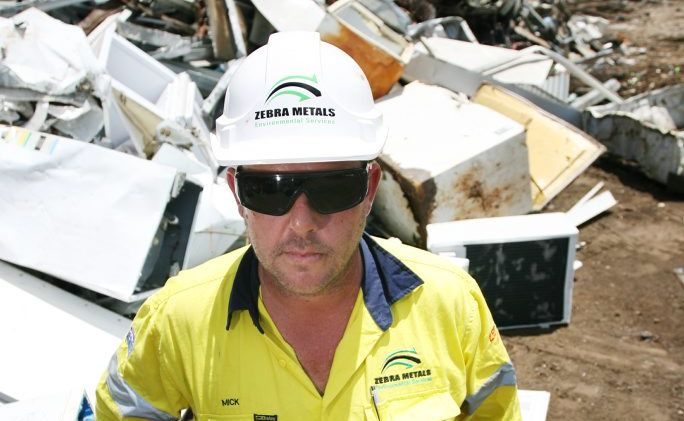 Mick McKie from Zebra Metals. Zebra Metals will be helping out emergency services including the SES and Rural Firefighters who helped out in the recent floods.