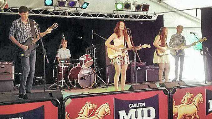 Young up-and-coming AICM band, Playback, will show the audience at Curra Country Club why they placed second in the 2013 CCMA National Talent Quest junior instrumental at Tamworth