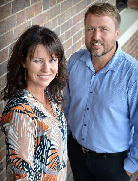 Deputy editor Shelley Strachan and editor Craig Warhurst.