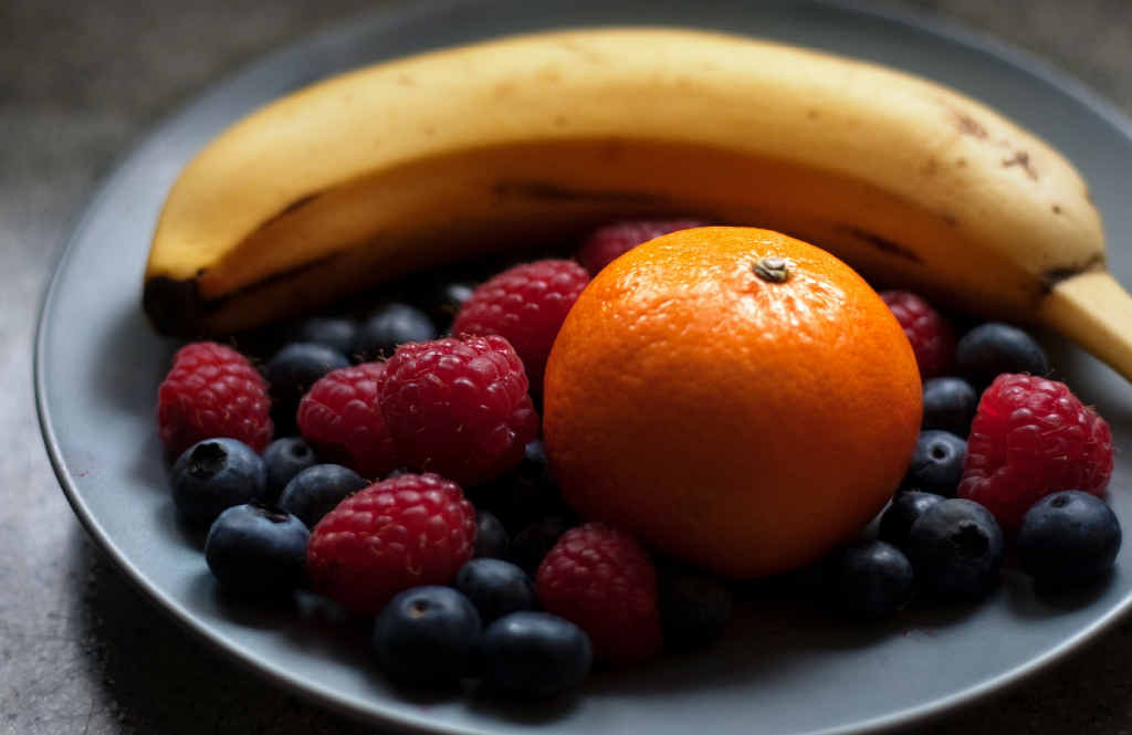 HEALTHY EATING: Instead of chocolate or sugary snacks, raid the fruit bowl.