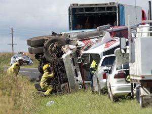 Wilsonton crash victim alive after Greenmount collision