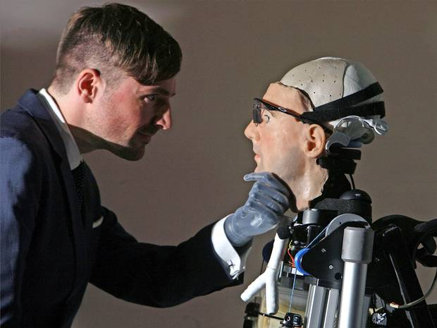 Meet Rex: the $1m bionic man with working heart, set of lungs and human face