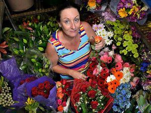 Florist helps love blossom on annual day of romance