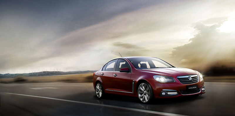 The new Holden VF Commodore.