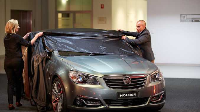 The new Holden Commodore will be launched within the month.