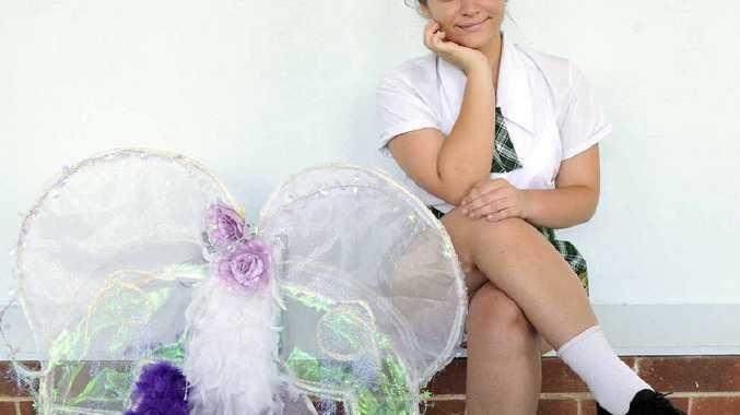 PLENTY OF DRAMA: Rebecca MacRae, Year 11 student from Kyogle High School, has won the Jan Levett scholarship for drama.