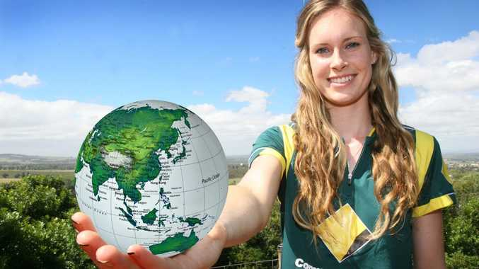 WORLD CUP WONDER: Holly Ferling is bowling well at the ICC Women's Cricket World Cup.