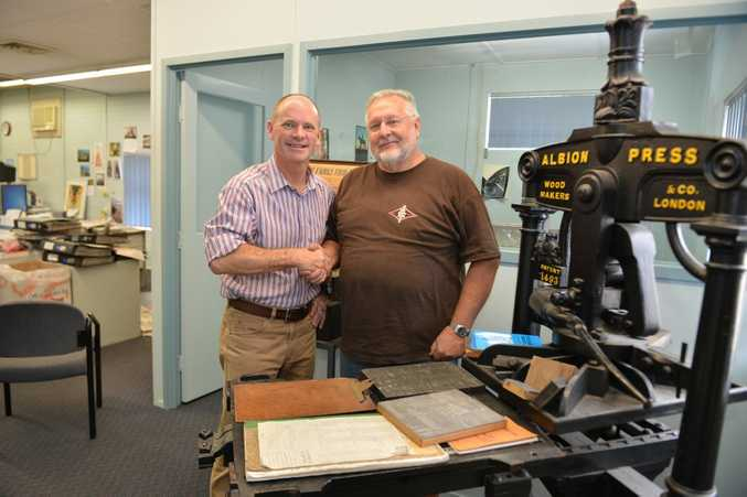Premier Campbell Newman wishes retiring editor Nev McHarg all the best.