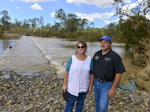 Residents call for higher crossing at Pikes after floods