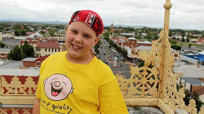 Caitlyn Meiklejohn is one of the bravest kids in Warwick.