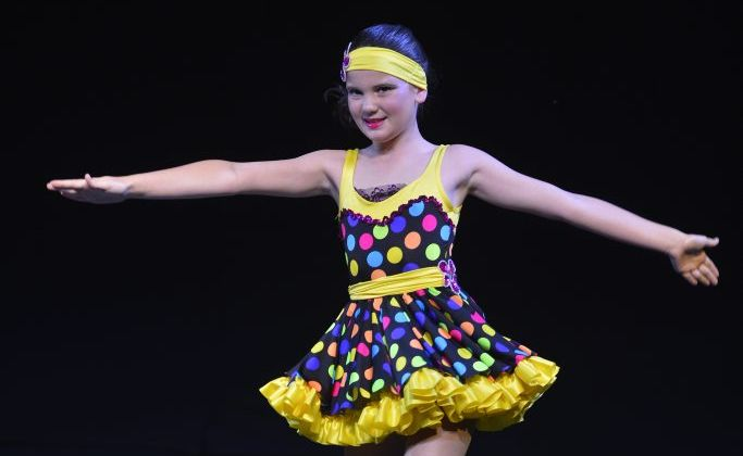 The 42nd Gladstone City Eisteddfod at the GEC Marina Marquee. 11 years Tap Solo. Abbey Murray.