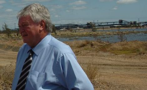 Federal Member for Flynn Ken O'Dowd during a tour of Gladstone.