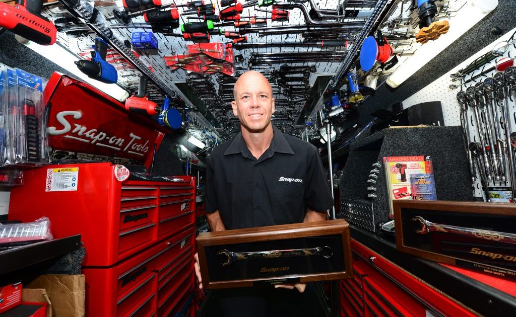 Brad Watts, owner / manager Snap-On Tools, Rockhampton won salesman of the year and national franchisee of the year. Photo Sharyn O'Neill / The Morning Bulletin