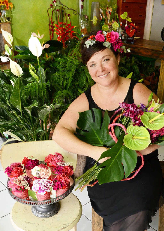 PREPARED: Lismore florist Anna Hunter, owner of Treeling Studio.