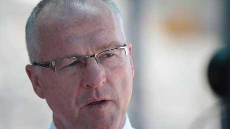 Sunshine Coast Mayor Mark Jamieson has visited the Toowoomba region.