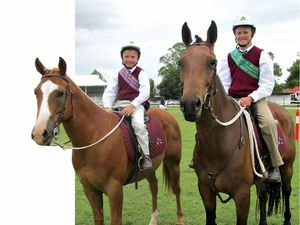 Brothers ride rings around Allora Show competitors