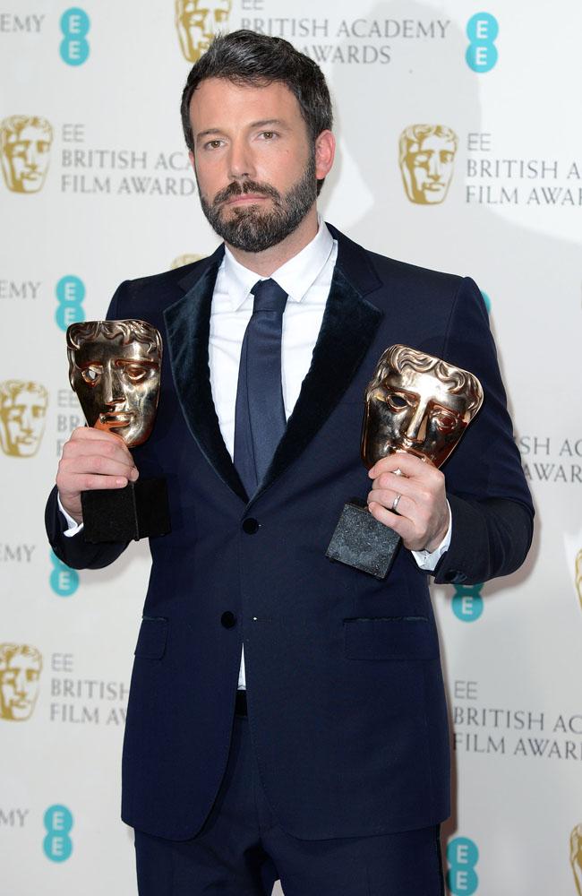 Ben Affleck at the BAFTA awards