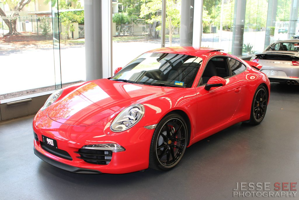 The all-new 2013 Porsche 911 Carrera S.