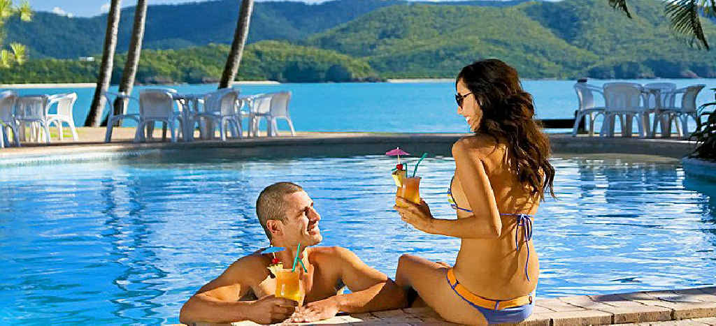Daydream Island Resort and Spa is the perfect place to take your partner.