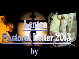 Bishop McGuckin Lenten message