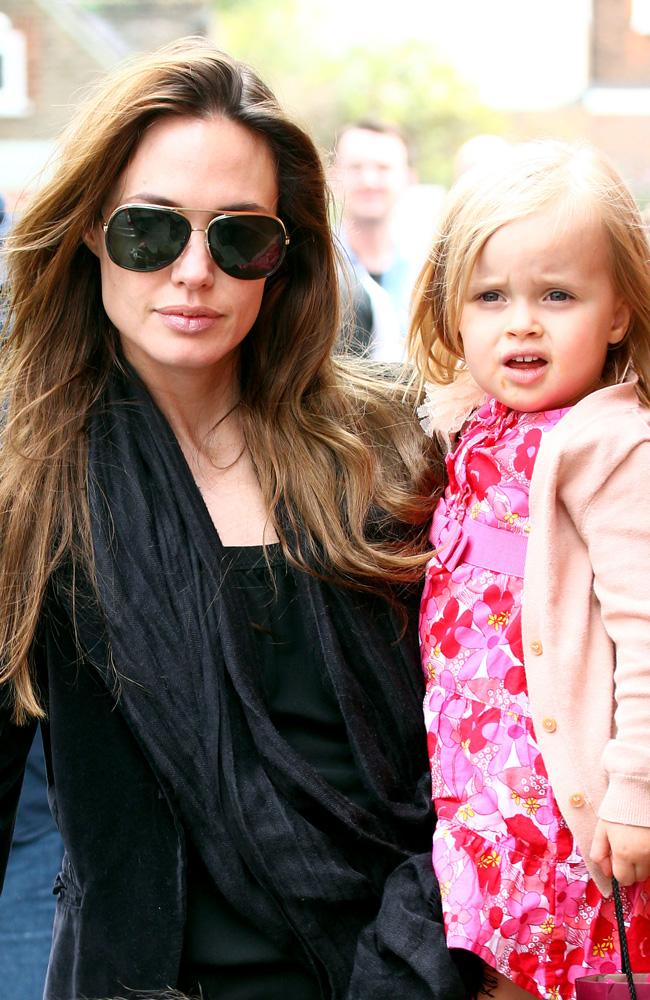 Angelina Jolie and Vivienne