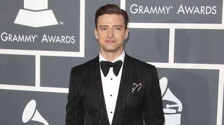 Justin Timberlake at the Grammys.