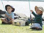 Glass House Mountains brothers, Oliver, 4, and Charlie Geeves, 2, were at last year's Burrum Heads Easter Fishing Classic.