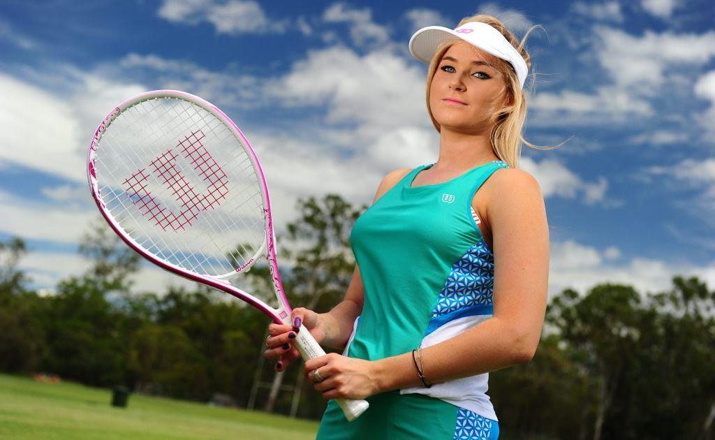 Belinda Kristensen wears Gladstone SportsPower gear.