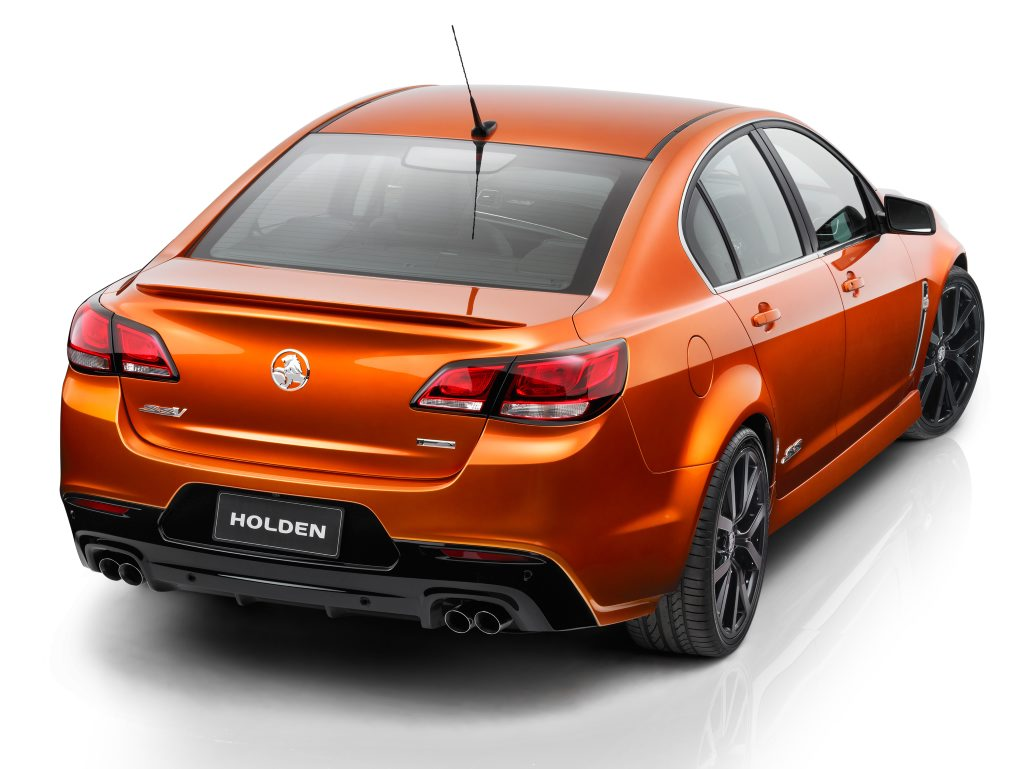 The VF Holden Commodore SS.