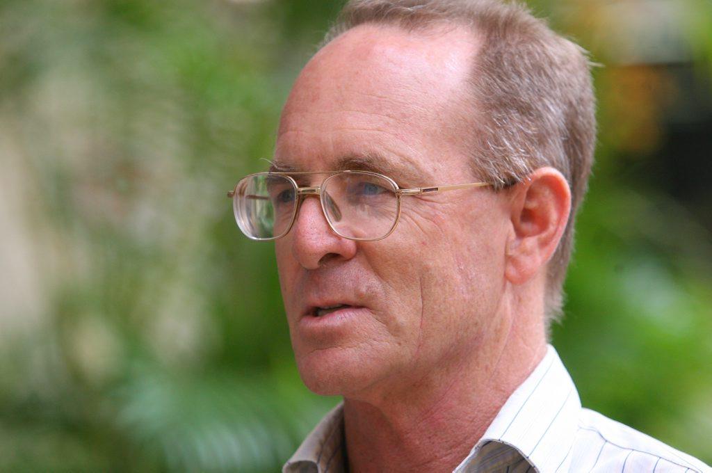 Professor John Rolfe from CQUniversity