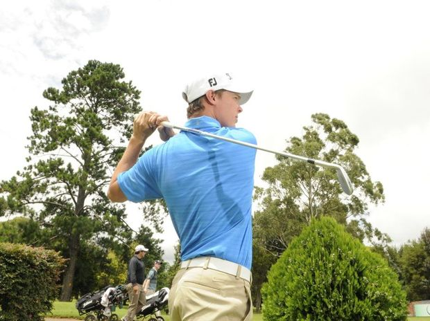 Victorian Ryan Lynch was one of numerous players posting sub-par rounds on day two of the Coca-Cola Queensland PGA Championship at City Golf Club today.