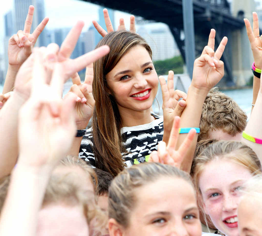 Miranda Kerr is the ambassador of Kids Helpline, a vital tool for central Queensland children and youth in need.