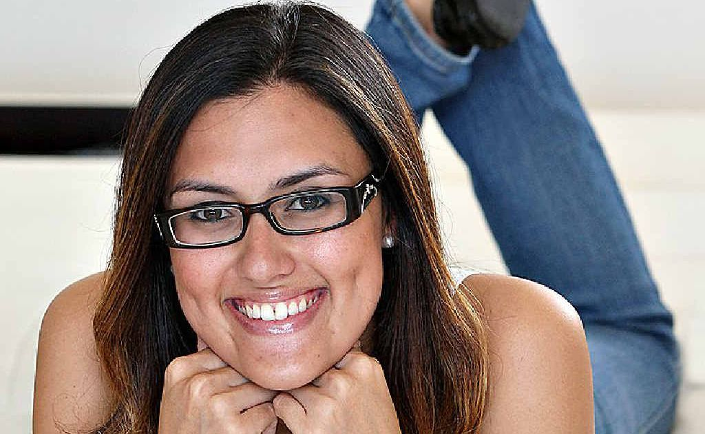 Cheryl Slender is a finalist in the Specsavers spectacle wearer of the year competition.