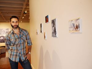 Exhibition, The Prince, inspired by ads and fashion