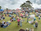 PROTESTERS PARTY: Several hundred people attended the Anti-CSG concert at Doubtful Creek.