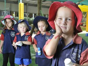 Kindy kids learn value of sun safety message