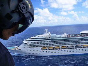 Cruise liner calls in medivac off Coffs Coast