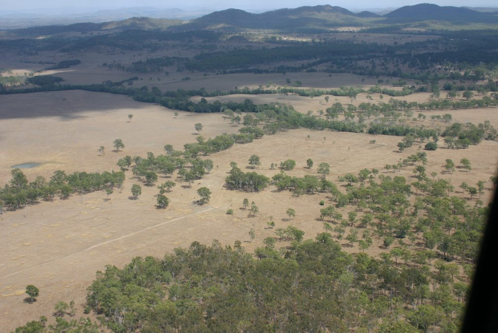 Site of the Boulder Steel project near Mt Larcom.