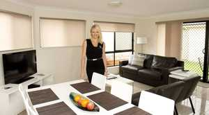 Alicia Harm shows off 21 of Hursley&squot;s apartment-style rooms.
